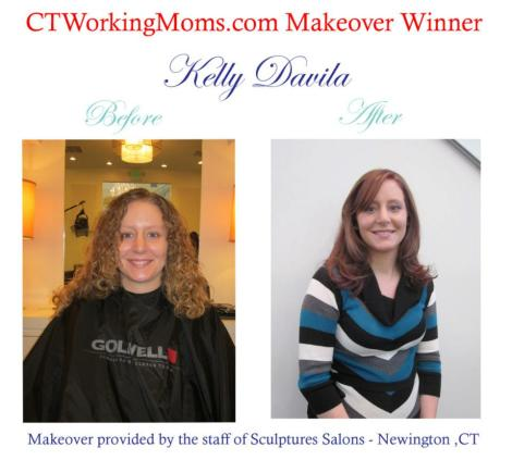 This is the makeover Kristin did last year for CTWM's giveaway winner Kelly!