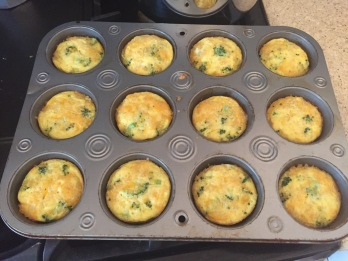 One of my yummy creations! These egg cups will keep for a few days in the fridge, and you can also freeze them.