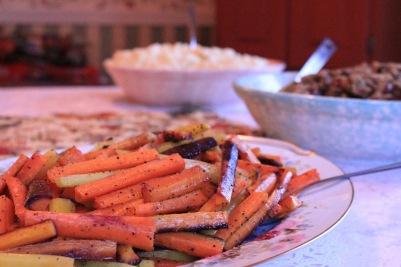Side dishes yaaaassssss (photo property of Emily Gonzalez)