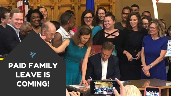 Paid family leave is coming!